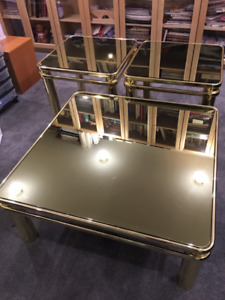 Bright Gold Coffee Tables