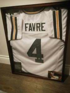 Brett Favre Autographed Jersey