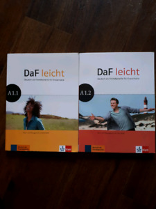 German 1110 and 1210 Textbooks