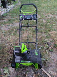 Greenworks 80v   Kijiji - Buy, Sell & Save with Canada's #1 Local