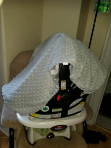 Carseat Canopy Cover For Infant Carseat