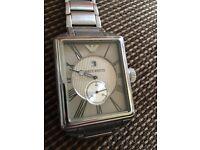 Men's Emporia Armani Gentleman watch- Genuine