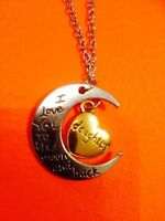 **I LOVE YOU TO THE MOON & BACK Daughter Necklace (& others)