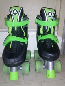 Adjustable Air Walk Roller Skates