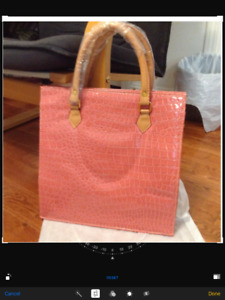 NEW fashionable tote bag with zipper