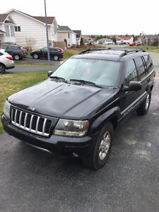 2004 Jeep Grand Cherokee 4.7L V8 w/ Extra alloy rims AND tires