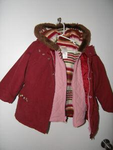 Gymboree 3-in-1 Jacket size 4T