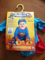 New with tags. Superman costume