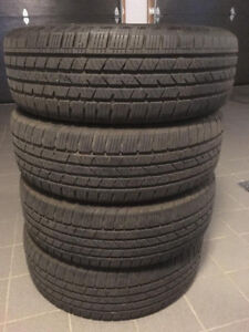 235/55/19 Continental Cross Contact LX SPORT X4 TIRES 90% TREAD