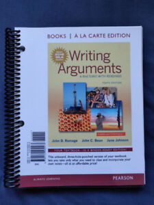 Writing Arguments: A Rhetoric with Readings (10th Tenth Edition)