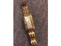 Karen Millen brand new ladies watch, golden strap and Swarovski gems