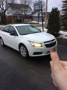 2012 Chevrolet Cruze with Snow Tires