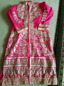 New 3 pc indian/ pakistani embroided dress