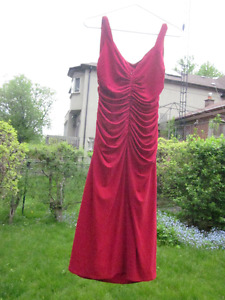 "95426ae1bd49f New LADIES ""SHELLI SEGAL"" RED PARTY DRESS- Size 12 - Fantastic!"