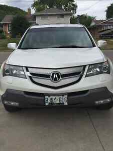 2008 Acura MDX Base model,  with tow package SUV, Crossover