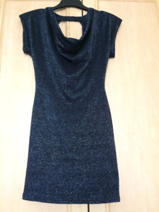 Black Dress by TFNC  London. Size S/M