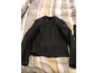 Frank Thomas motorcycle jacket and trousers