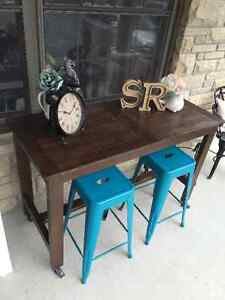 Rustic kitchen island/ counter