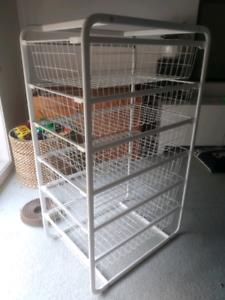 IKEA wire ALGOT drawers