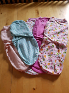 Swaddlers, 0-6 months girls