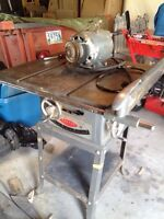 Vintage pre 1954 Beaver Cast Iron table saw