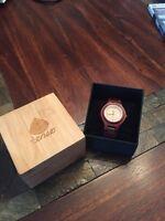 Tense Wooden Wristwatch