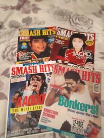 Michael Jackson Smash Hits Magazine Collection