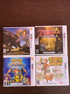 4 3DS Games for Sale