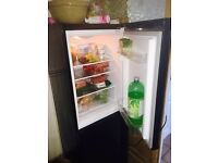 Black fridge freezer . Russell Hobbs