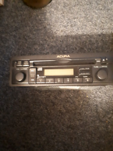 2001 acura el 1.7 radio CD player