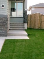 **Calgary Professional Sod Installation - 15¢ Sept. Discount**
