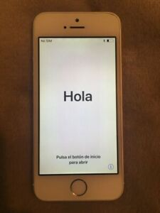 iPhone 5s, unlocked, 16GB, with otterbox case
