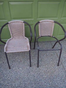 CRAFT PROJECT- 2 sets of metal chair frames