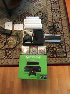 Xbox One 500GB + Kinect + Headset + 3 Games