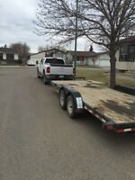 Truck trailer for hire