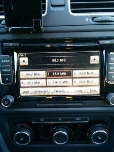 VW Jetta Golf Radio Cd Mp3 USB RCD510