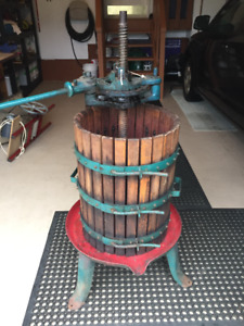 Immaculate Heavy Duty Grape/Wine Press For Sale...