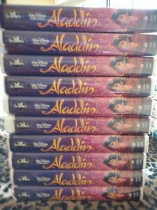 Aladin VHS black diamond