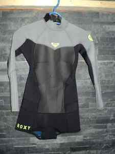 Womens Roxy Syncro 2mm Long Sleeve Bootie Wetsuit