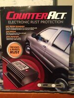 Counter act electronic rust protection