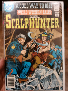 ScalpHunter Comic VG Weird Western Tales #70