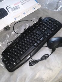 New keyboard and mouse.