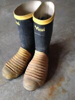 Steel Toe and Sole Rubber Boots
