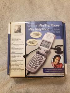 REAL Mini Flip Phone