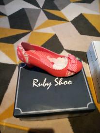 BNIB RUBY SHOO SHOES SIZE 5