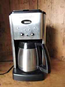 Used Cuisinart Coffee Maker and Carafe