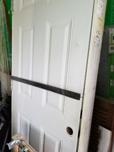 "32"" Exterior Door with Frame"