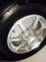 Winter tires and allloy wheels / NEW / 235-70-16