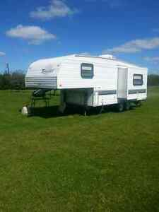 5th wheel trailer 24.5ft