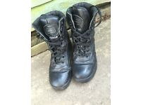 Army boots size 9